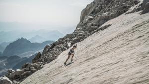 Kortazar establece una nueva marca de velocidad de ascenso y descenso del Aneto