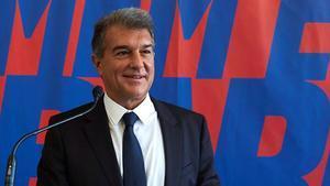 Laporta: Volver a ser presidente del Barça es el reto más grande de mi vida
