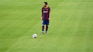 Messi, que ha pedido paz y unidad, espera acabar con su racha maldita en Balaídos
