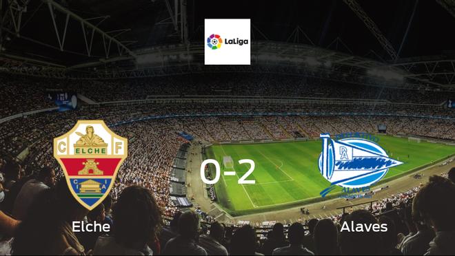 Alaves squeeze past Elche in 2-0 win at Estadio Martínez Valero