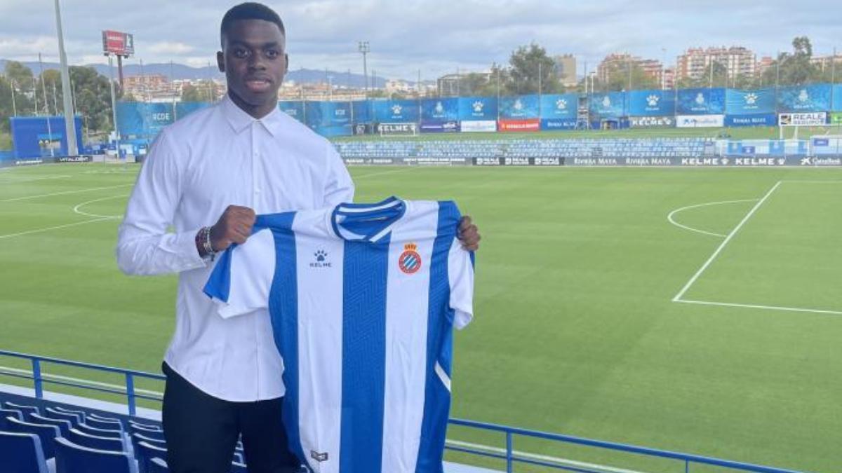 Luka Kameni, hijo de Carlos Kameni, ficha por el Espanyol
