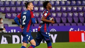 Malsa, celebrando un gol