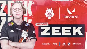 Zeek, nuevo jugador de G2 VALORANT