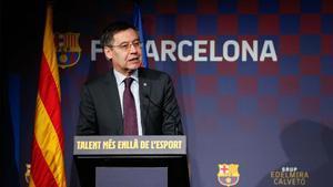 Josep María Bartomeu habló para SPORT sobre la rebaja salarial del primer equipo