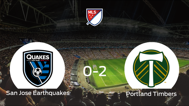 El Portland Timbers se lleva tres puntos después de ganar 0-2 al San Jose Earthquakes