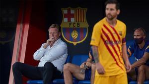 La respuesta de Koeman a las palabras de Leo Messi (ES)