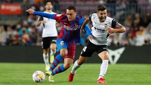 Sergiño Dest realizó contra el Valencia uno de sus mejores partidos con la camiseta del Barça