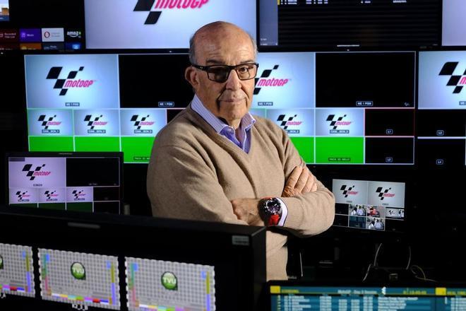El CEO de Dorna, Carmelo Ezpeleta