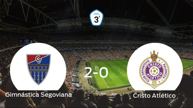 La Gimnástica Segoviana se lleva tres puntos tras vencer 2-0 al Cristo Atlético