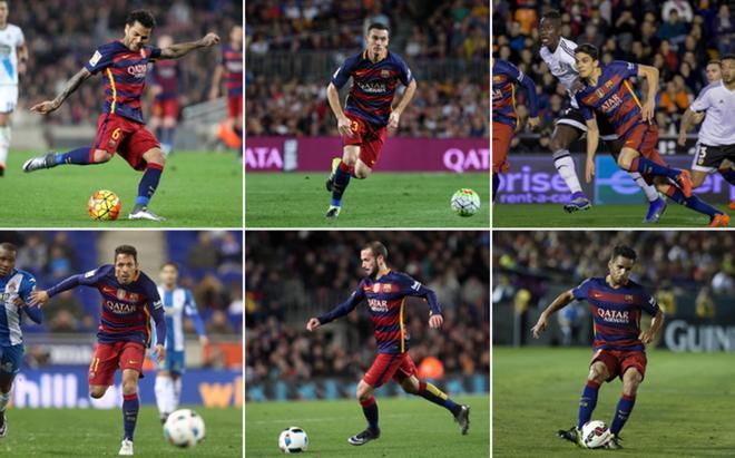 Alves, Vermaelen, Bartra, Adriano, Aleix y Douglas, en la lista