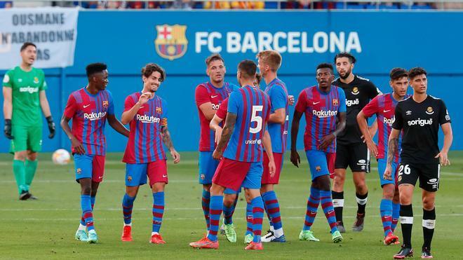 ¡Revive las mejores jugadas del primer partido de pretemporada del FC Barcelona!