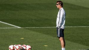 El Madrid vuelve al trabajo pensando en la Copa...con Lopetegui