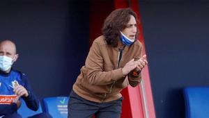 Natalia Arroyo, entrenadora de la Real Sociedad, atiende a SPORT