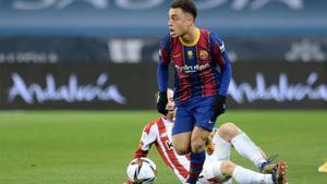 Sergiño Dest será baja contra el Cornellà en la Copa