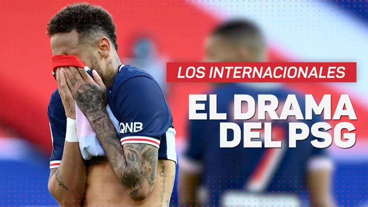El drama del PSG con los internacionales