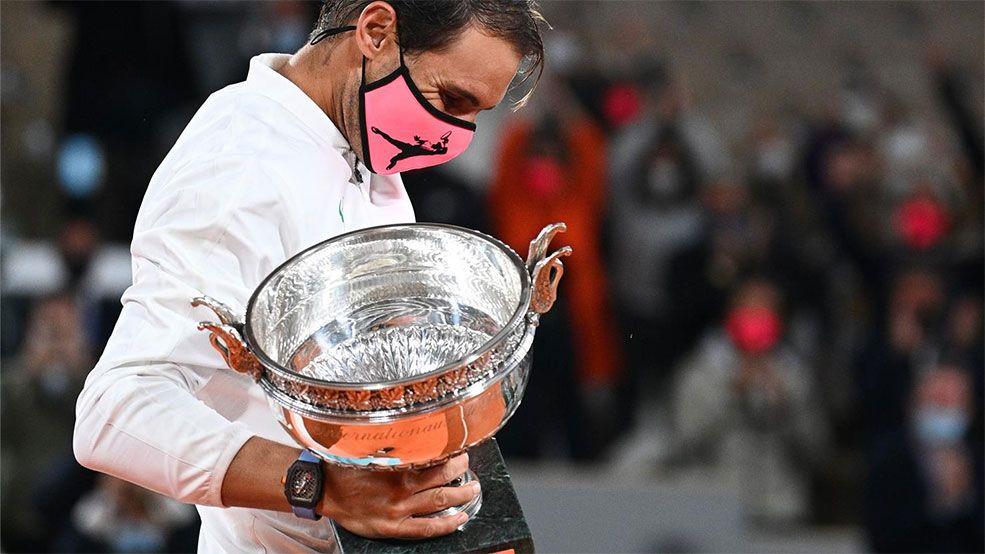 El palmarés de Roland Garros