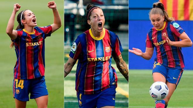 Lieke Martens, Aitana Bonmatí y Jenni Hermoso revelaron cómo vive el vestuario culé los días previos a la final de Champions