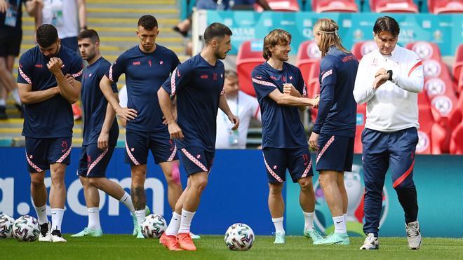 Los jugadores croatas son muy conscientes de las virtudes de la 'Roja' e intentarán neutralizarlas