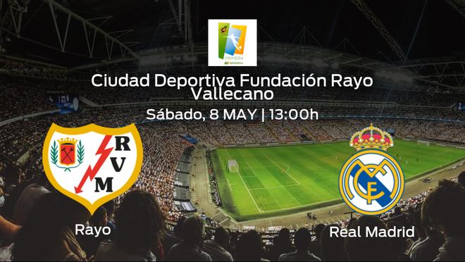 Jornada 29 de la Primera Iberdrola: previa del encuentro Rayo Vallecano Femenino - Real Madrid Femenino