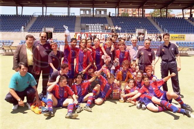 4. Andrés Iniesta 1997-98