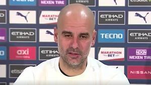 Guardiola habla sobre la pérdida de peso de Ferran Torres tras pasar la COVID-19