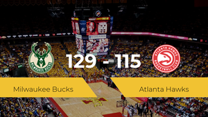Milwaukee Bucks vence a Atlanta Hawks por 129-115