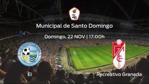 Jornada 5 de la Segunda División B: previa del encuentro El Ejido - Recreativo Granada