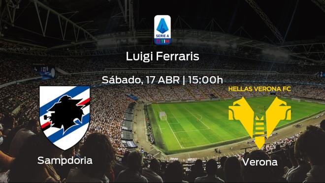 Previa del encuentro: Sampdoria - Hellas Verona