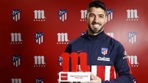 Luis Suárez elegido Jugador Cinco Estrellas del mes de enero
