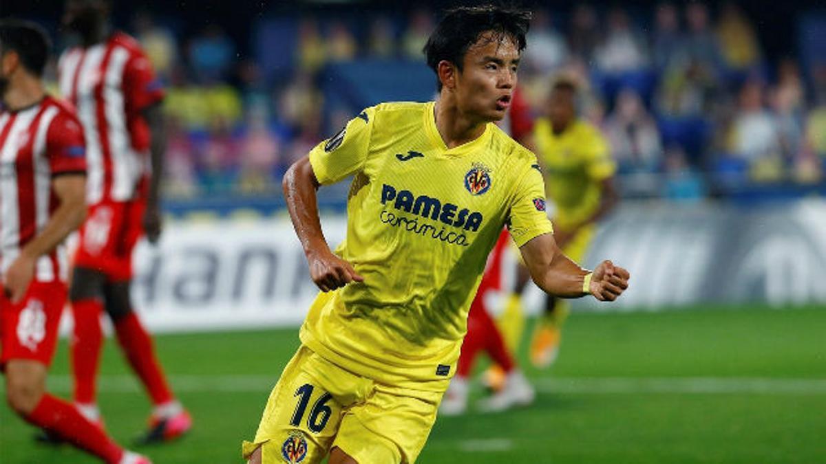 Kubo marca el primer gol ante el Sivasspor