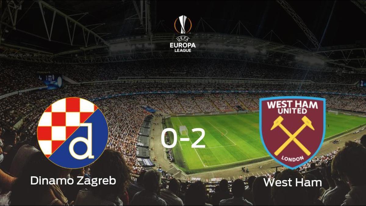 El West Ham deja sin sumar puntos al Dinamo Zagreb (0-2)