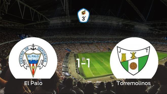 El Paloy el Torremolinosse reparten los puntos y empatan 1-1