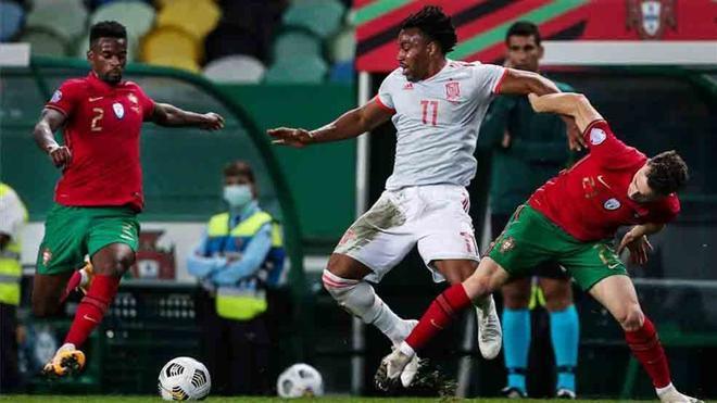Adama Traore debutó con la selección española