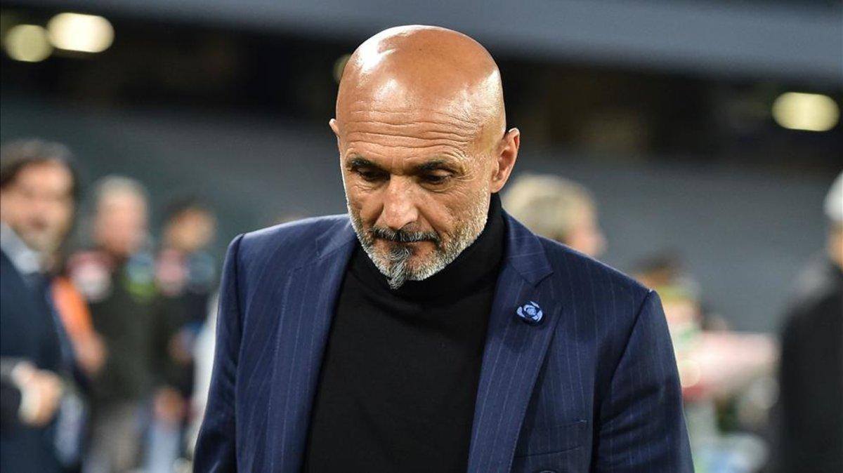 Luciano Spalletti, durante su etapa como entrenador del Inter
