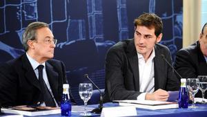 Florentino criticó duramente a Casillas