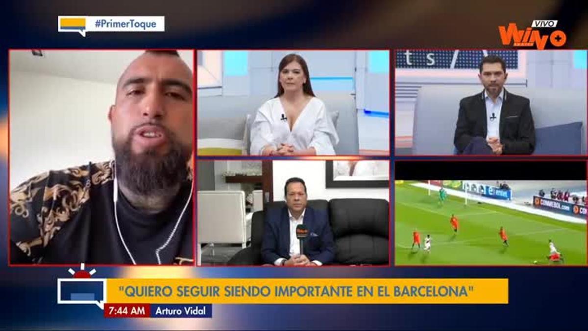 Arturo Vidal dejó en el aire la continuidad de Setién