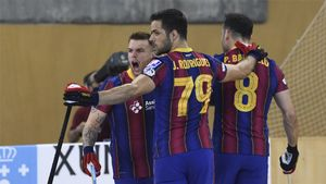 Goleada del Barça, y a la final