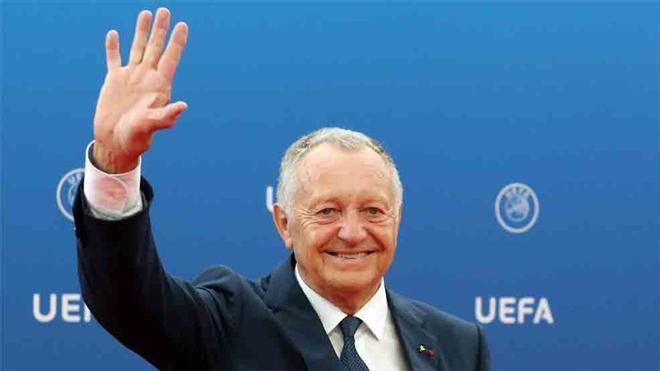 Aulas, presidente del Olympique de Lyon