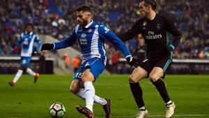 Bale arrancó impetuoso en Cornellà-El Prat, pero se diluyó con el paso de los minutos