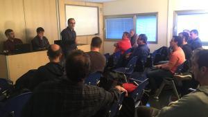 Ocampo habló sobre su metodologia de trabajo