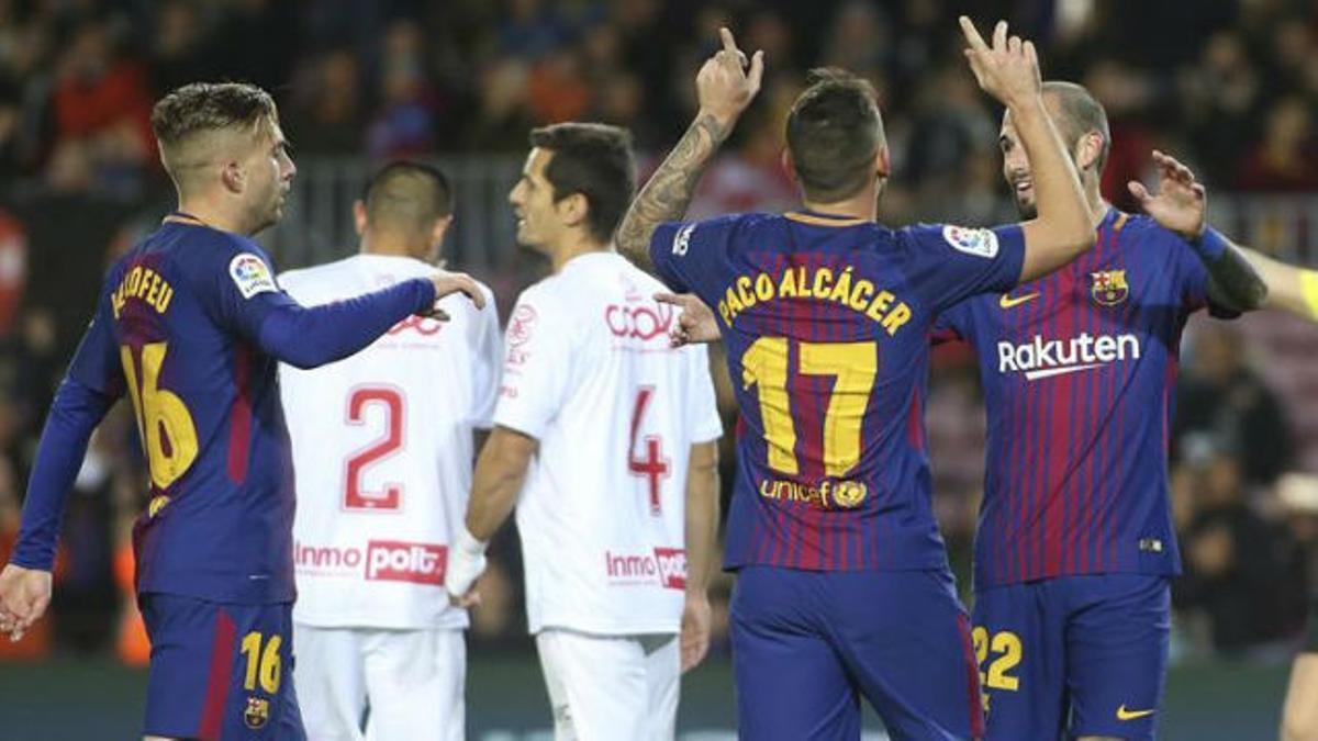 LACOPA   FC Barcelona - Murcia (5-0): El gol de Paco Alcácer