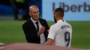 Zidane confirma la baja de Benzema