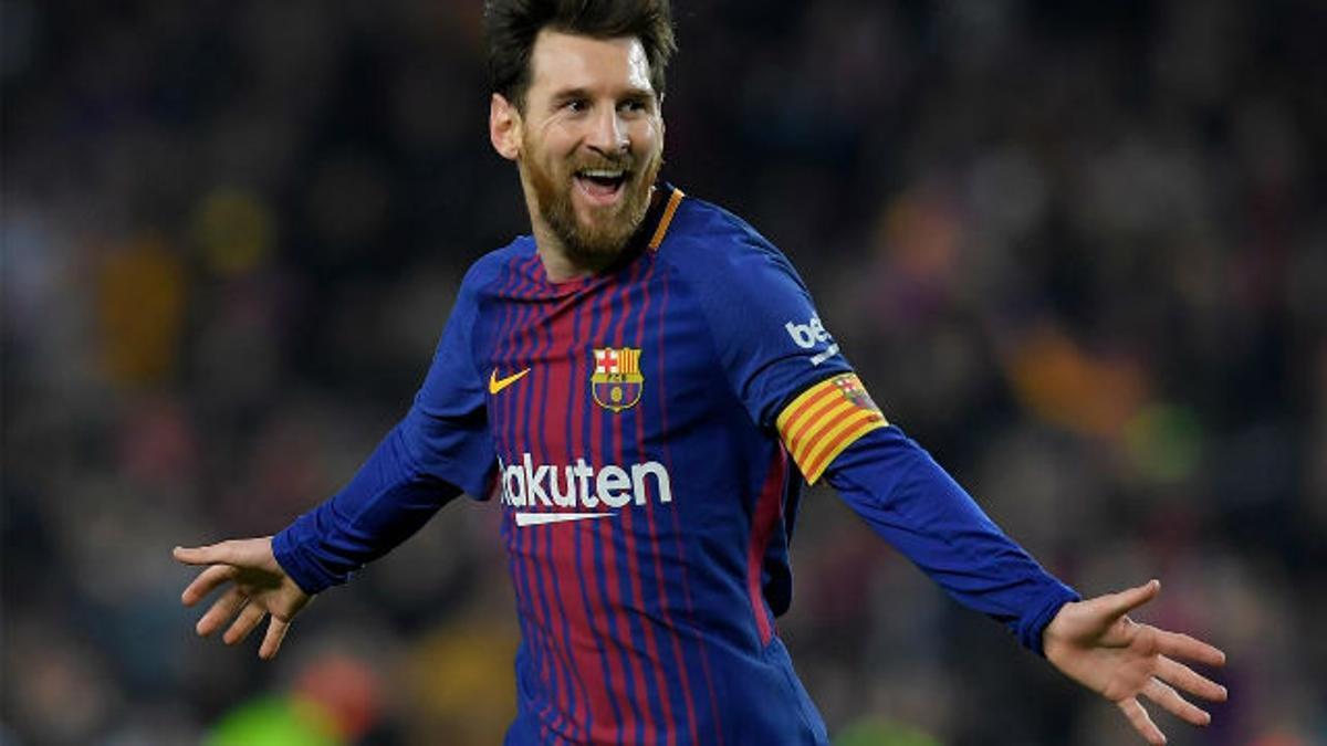 LALIGA   FC Barcelona - Girona (6-1): Messi anotó un gran gol de falta para poner el 3-1