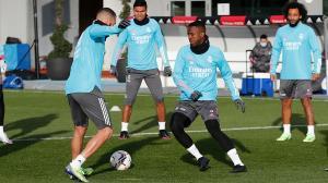 Así ha sido el último entrenamiento del Madrid antes de viajar a Sevilla