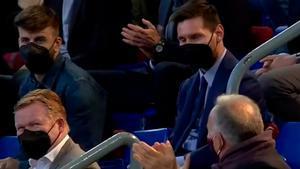 La reacción de Messi tras la petición que le hizo Laporta