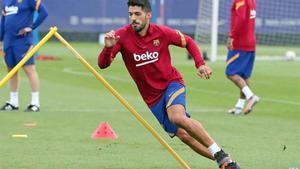 Luis Suárez vive sus últimas horas como jugador del Barça