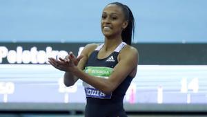 Ana Peleteiro, campeona de España de triple salto en pista cubierta