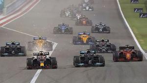 La salida del último GP de Bahrein