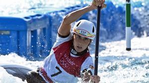 Nuria Villarubla pasa a la final en aguas bravas