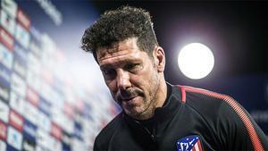 Simeone intentó explicar la eliminación del Atlético de Madrid